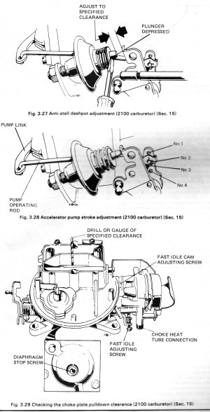 2100 carb diagram  Page 2  Ford Mustang Forum