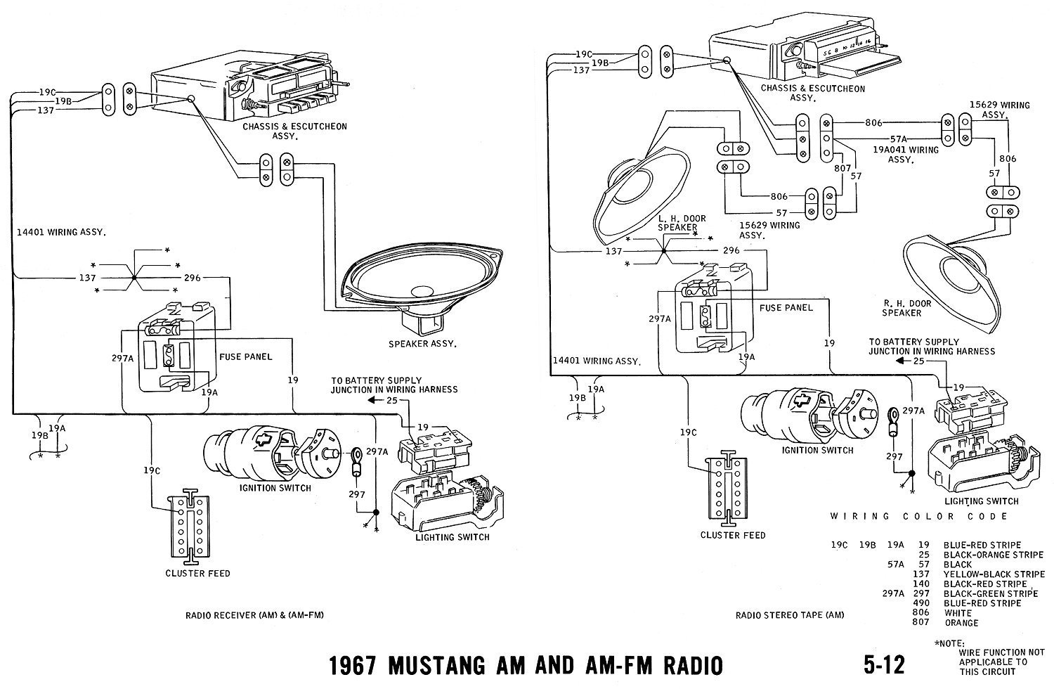 Mustang Radio Wiring Diagram Wiring Diagram Images