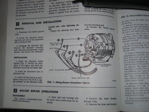 1966 Mustang Alternator Wiring  Ford Mustang Forum