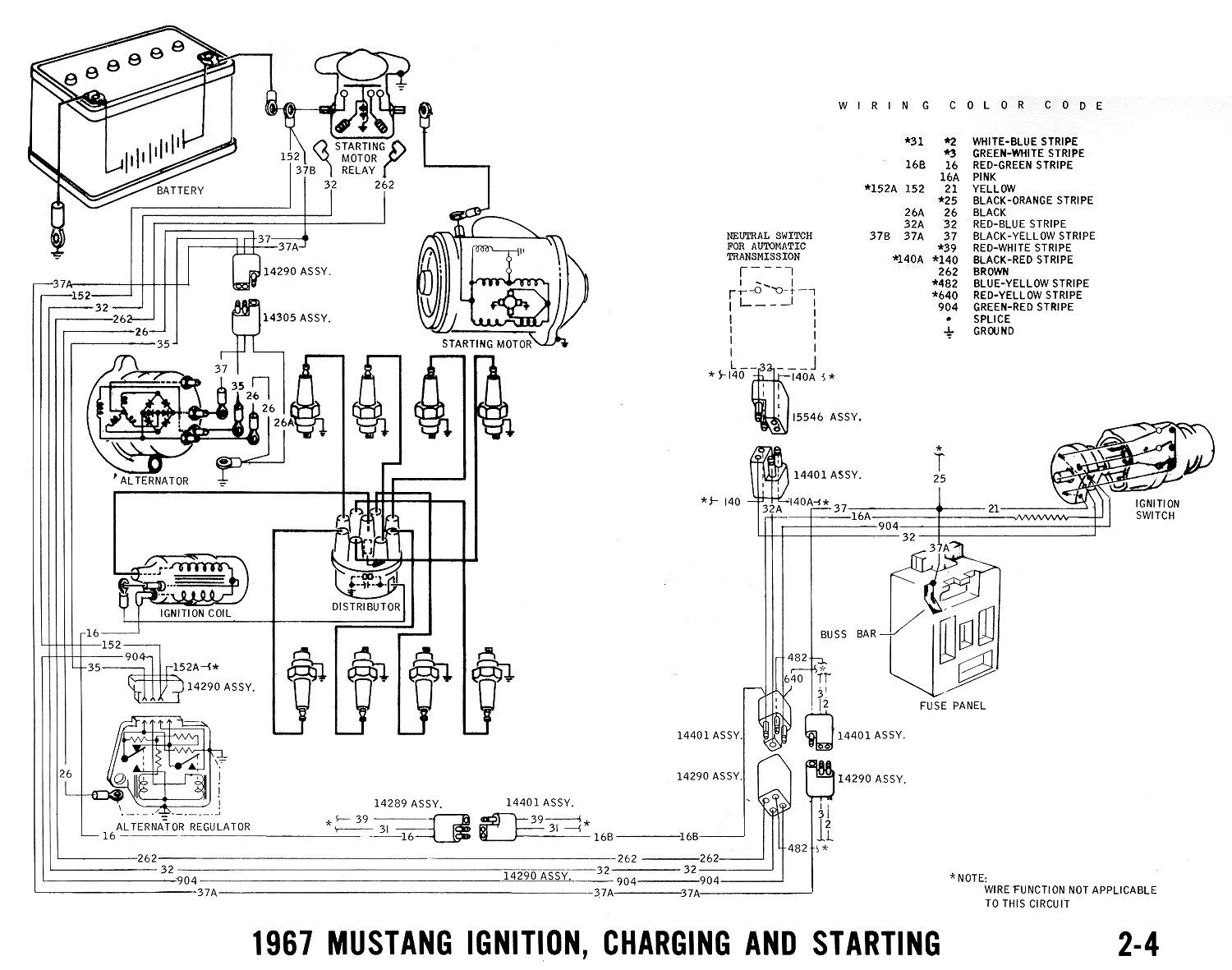 1967 ford alternator wiring diagram wiring schematic diagram 1968 Ford Alternator Wiring Diagram Free Picture