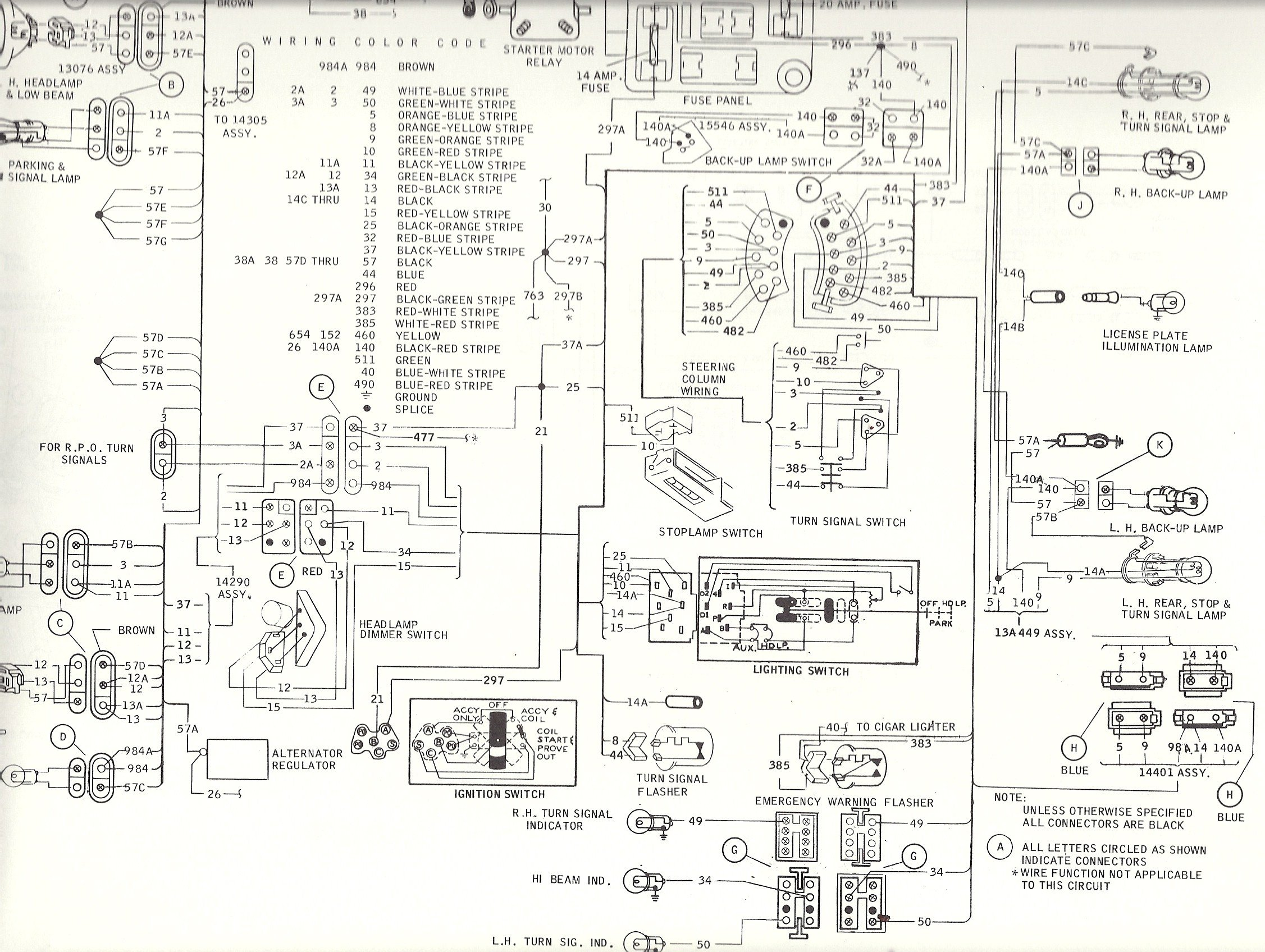 1989 mustang turn signal wiring diagram wiring diagram 1968 mustang turn signal switch wiring
