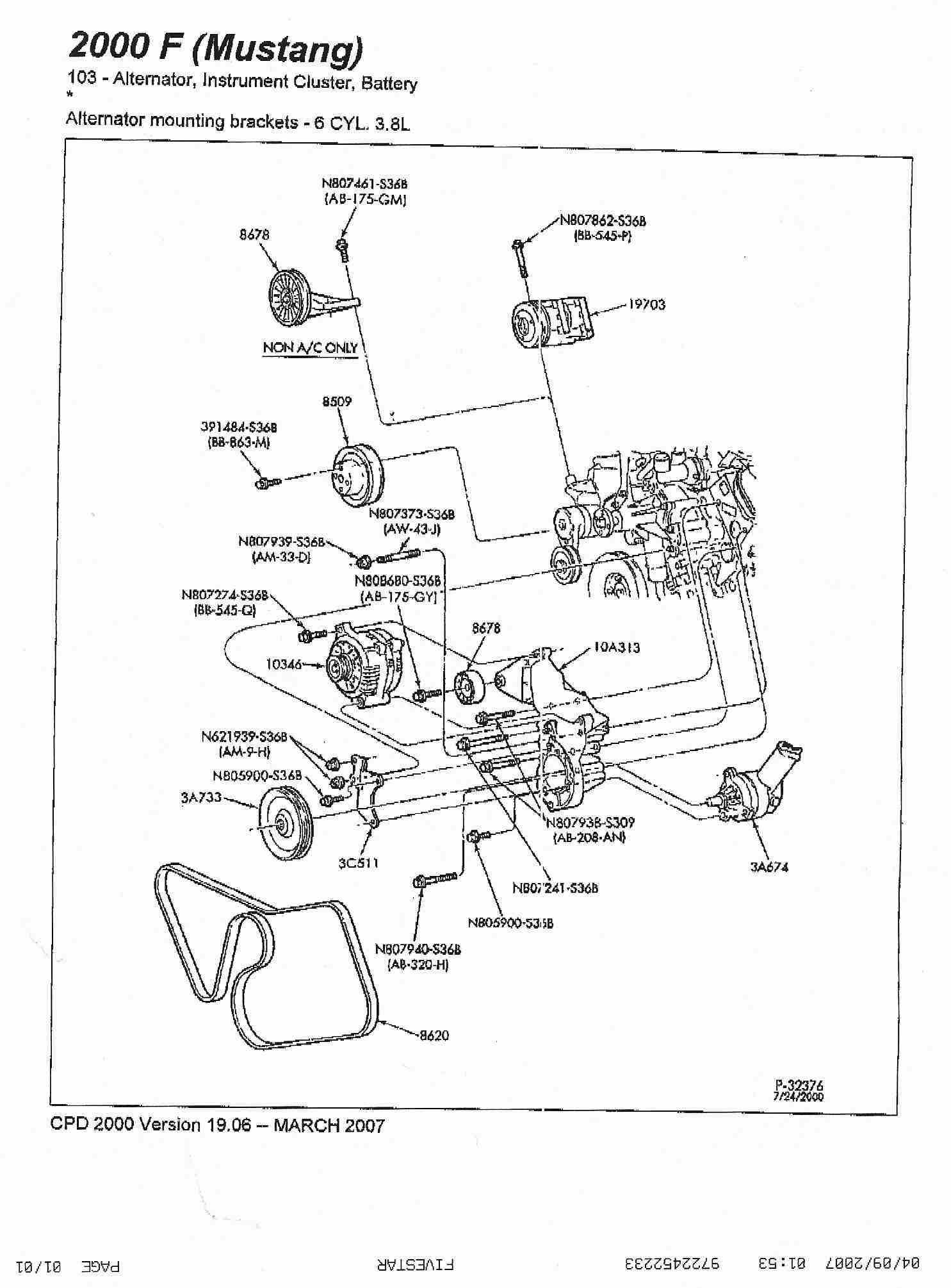 Wiring Diagram For Mustang Gt