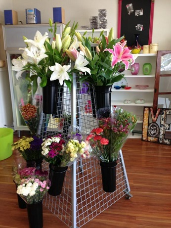 Blooming Bright display stand 2 - Custom Build Fabrication