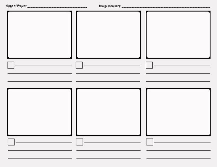 Digital Storyboard Templates