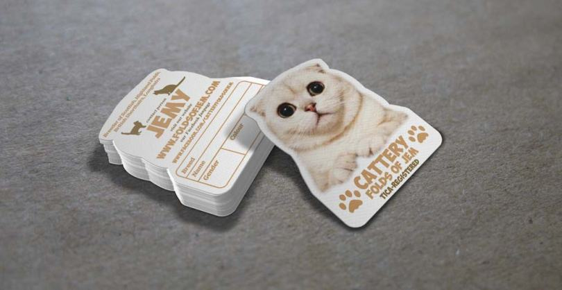 Cat Business Card templates