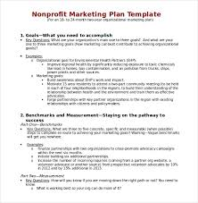marketing plan templates 20 formats examples and complete guide
