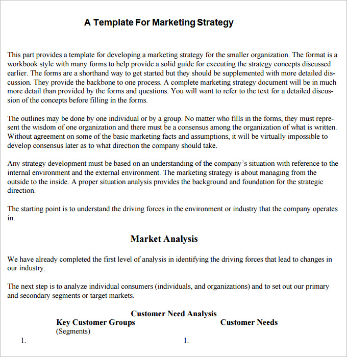 writing a strategic plan template - marketing plan templates 20 formats examples and