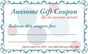 Coupon Template