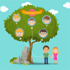 Family Tree Vector Templates