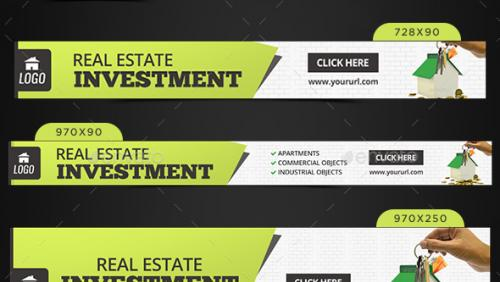 Investment Ad Banner template