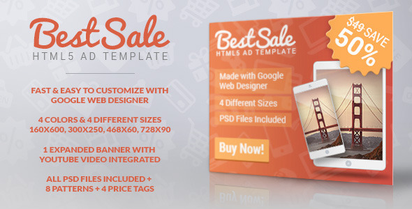 Promotional Ad Banner Template