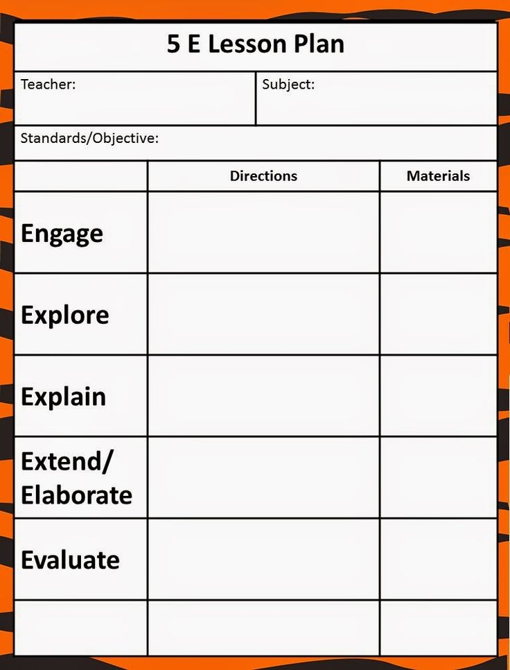 Free lesson plan templates 20 word pdf format download for Day plan template for teachers