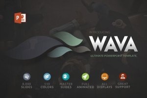 Wava powerpoint Template