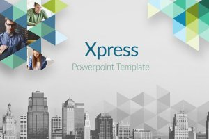 X-Press Powerpoint Template