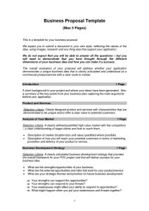 Professional Business Proposal template: