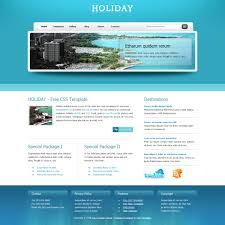 Trip Website Theme template