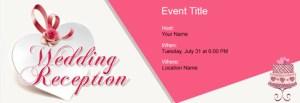 Wedding Reception Invitation Card Templates