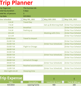 vacation-Trip-Planner