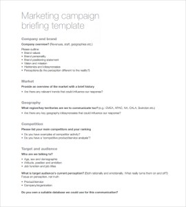 Advertising Campaign Proposal