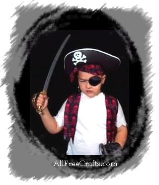 Quick and Easy Costumes for Kids. pirate costume  sc 1 st  All Free Crafts & 30 Quick and Easy Halloween Costumes for Kids