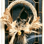 dried florals wreath
