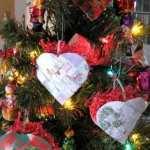 woven heart card baskets