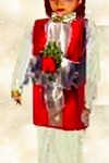 wrapped gift costume