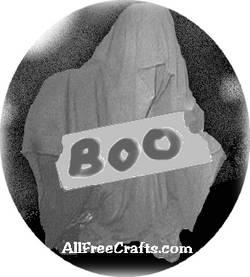 grim reaper boo sign