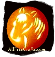 horse carving pumpkin