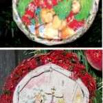 Juice Lid Ornaments