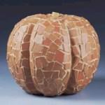 Terra Cotta Mosaic Pumpkins