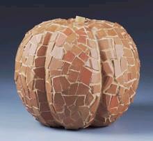 terra cotta pumpkins