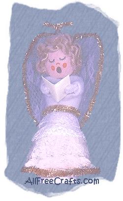 choir angel light bulb