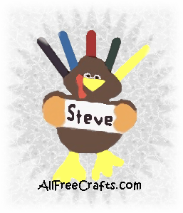 craft foam turkey