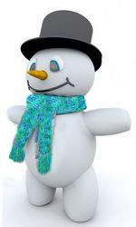 snow lantern scarf