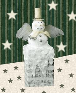 snowman chimney