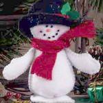 Felt Snowman