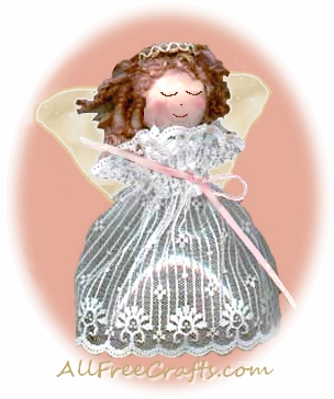 Recycled pop bottle angel for Craft angels to make