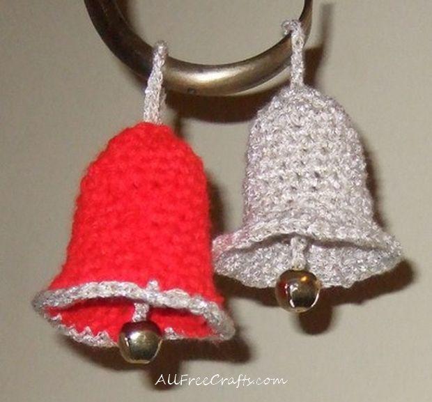 Free christmas bells crochet pattern