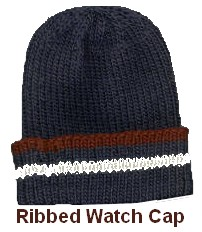 Knitted Ribbed Watch Cap - Free Pattern