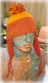 beanie ear flap hat