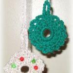 crochet Christmas wreaths