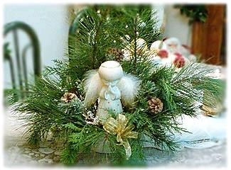 angel Christmas display