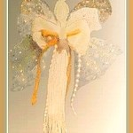 Embroidery Floss Angel