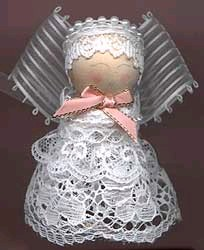 ribbon and lace angel
