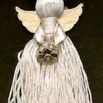 ribbon tassel angel