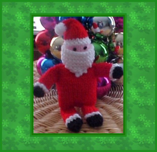 Knitted Santa All Free Crafts