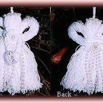 winter white tassel angels