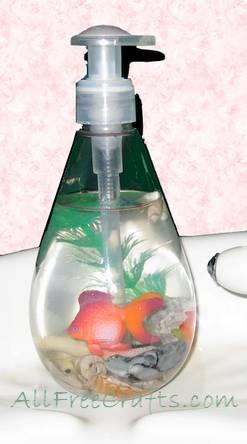 aquarium soap bottle