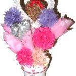 Homemade Paper Flowers Bouquet